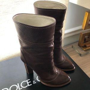 DOLCE & GABBANA Booties, 6.5